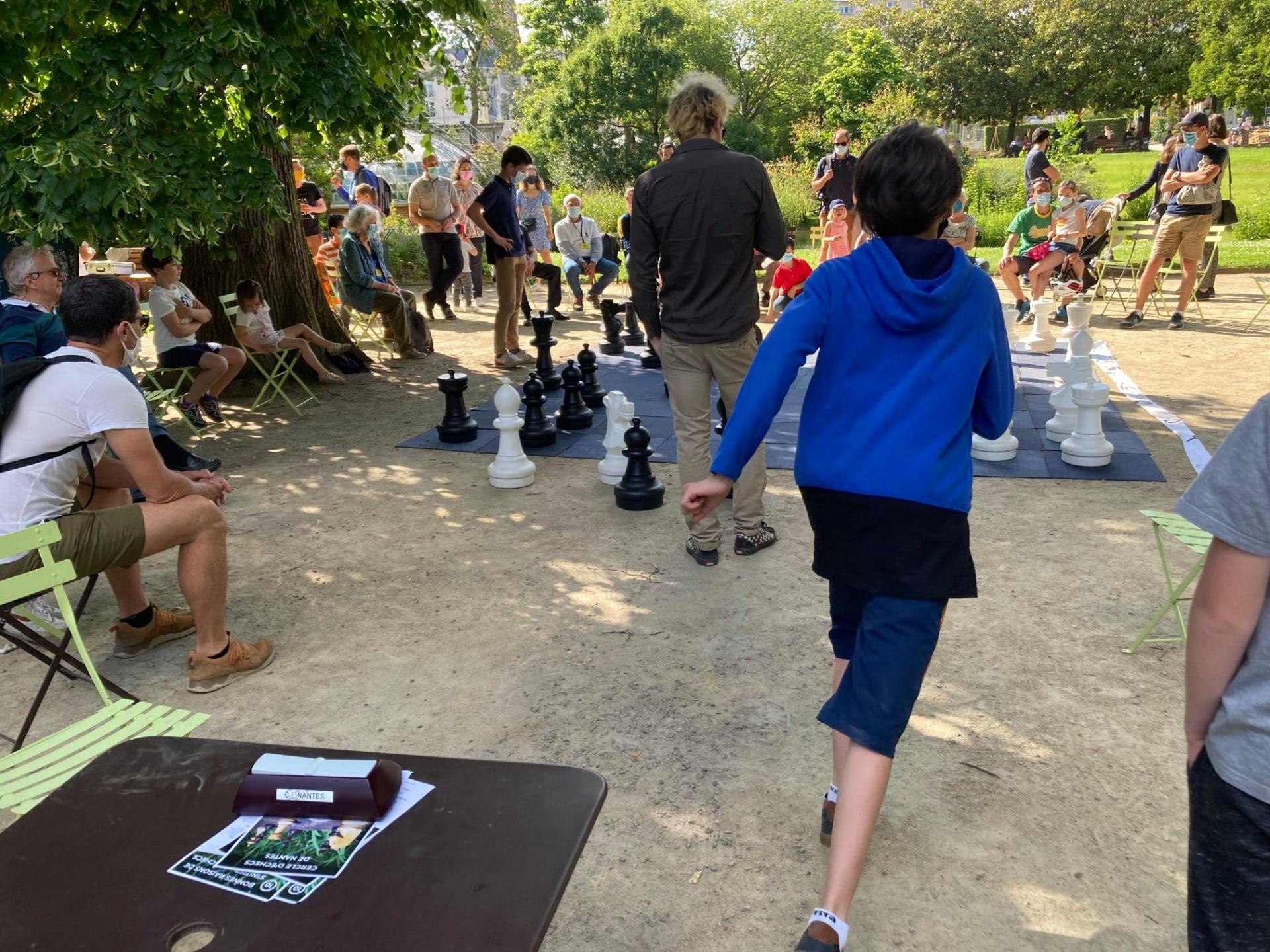 Chess and run